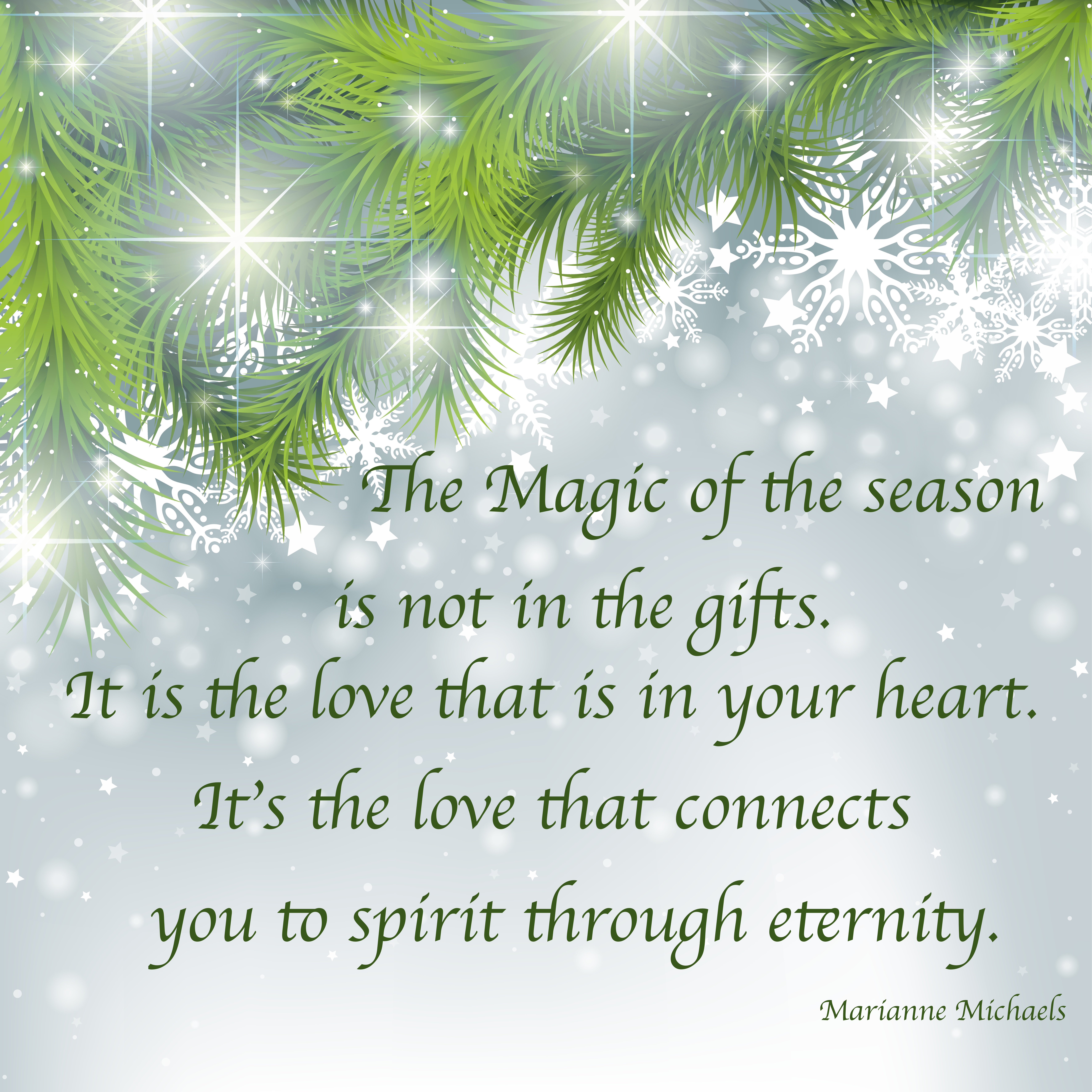 Holidays Can Be Magical Marianne Michaels